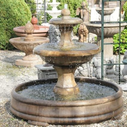 "Springbrunnen ""Barrington Fountain I"" - Henri Studio"