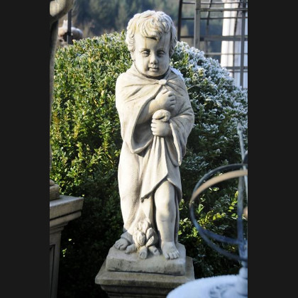 "Gartenfigur ""Putte Winter"""