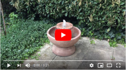 Terrassenbrunnen Rubus Youtube Video